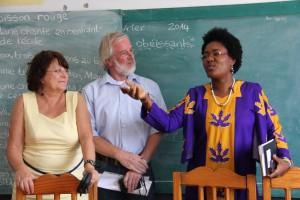 Berlin und Port-au-Prince, zwischen den Jahren mit Neujahrswünschen