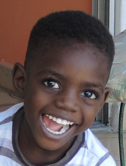 Haiti Junge