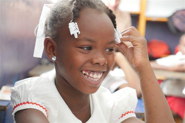 Haiti Kind Mädchen