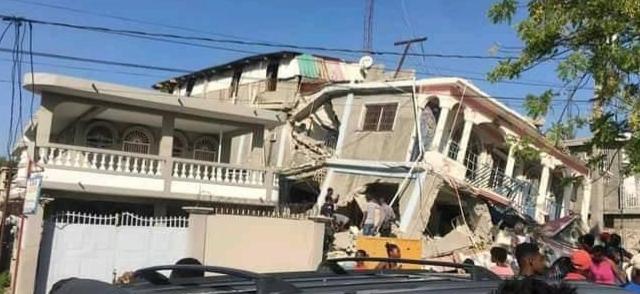 15. August 2021 – Ortszeit Haiti